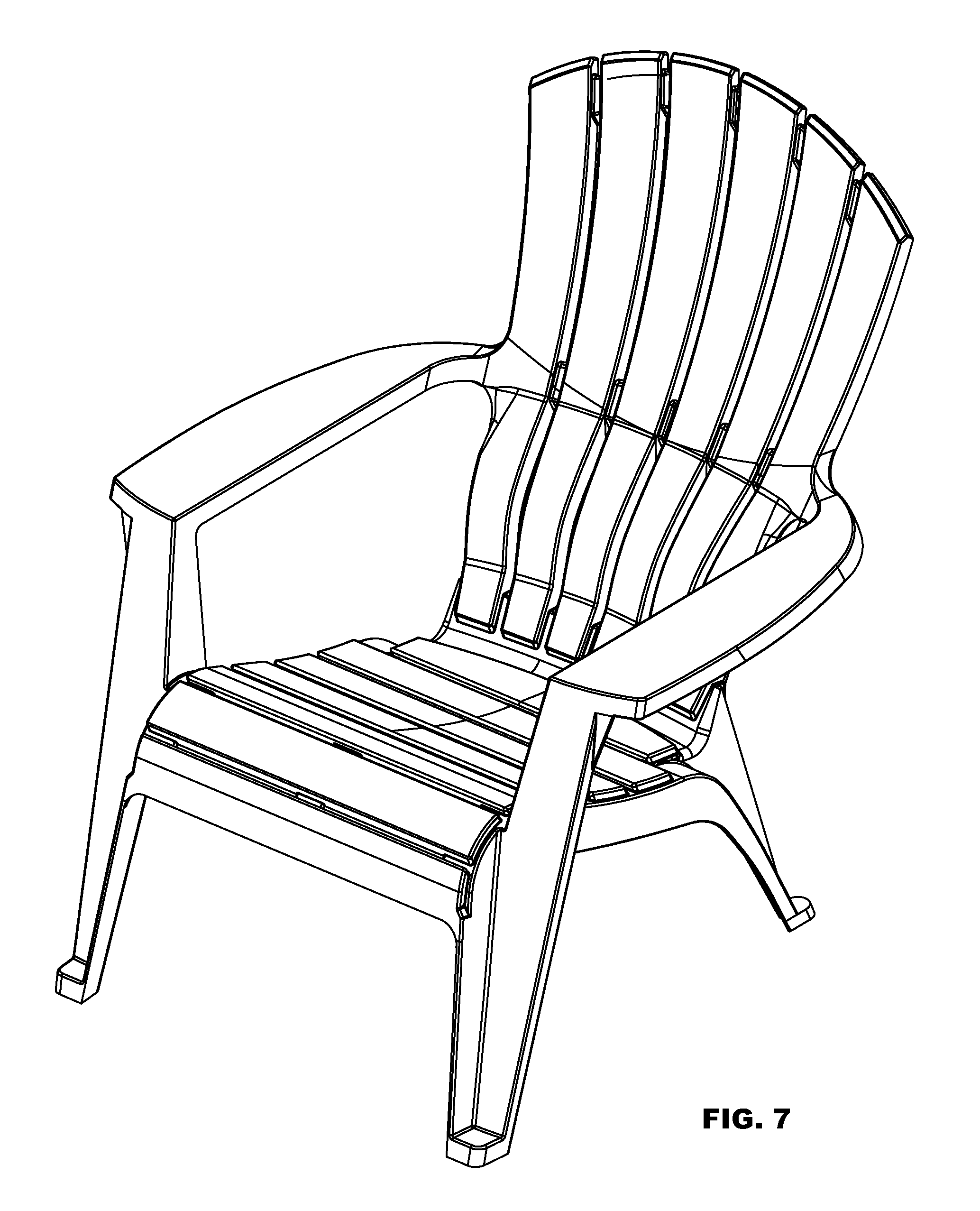 chair design patent booster seat that attaches to usd607223 adirondack with lumbar support