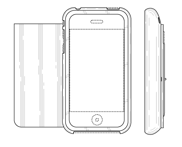 Patent USD624064 Cell phone case Google Patents