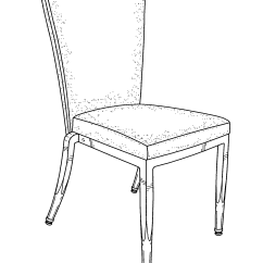 Chair Design Patent Bedroom For Gaming Drawing