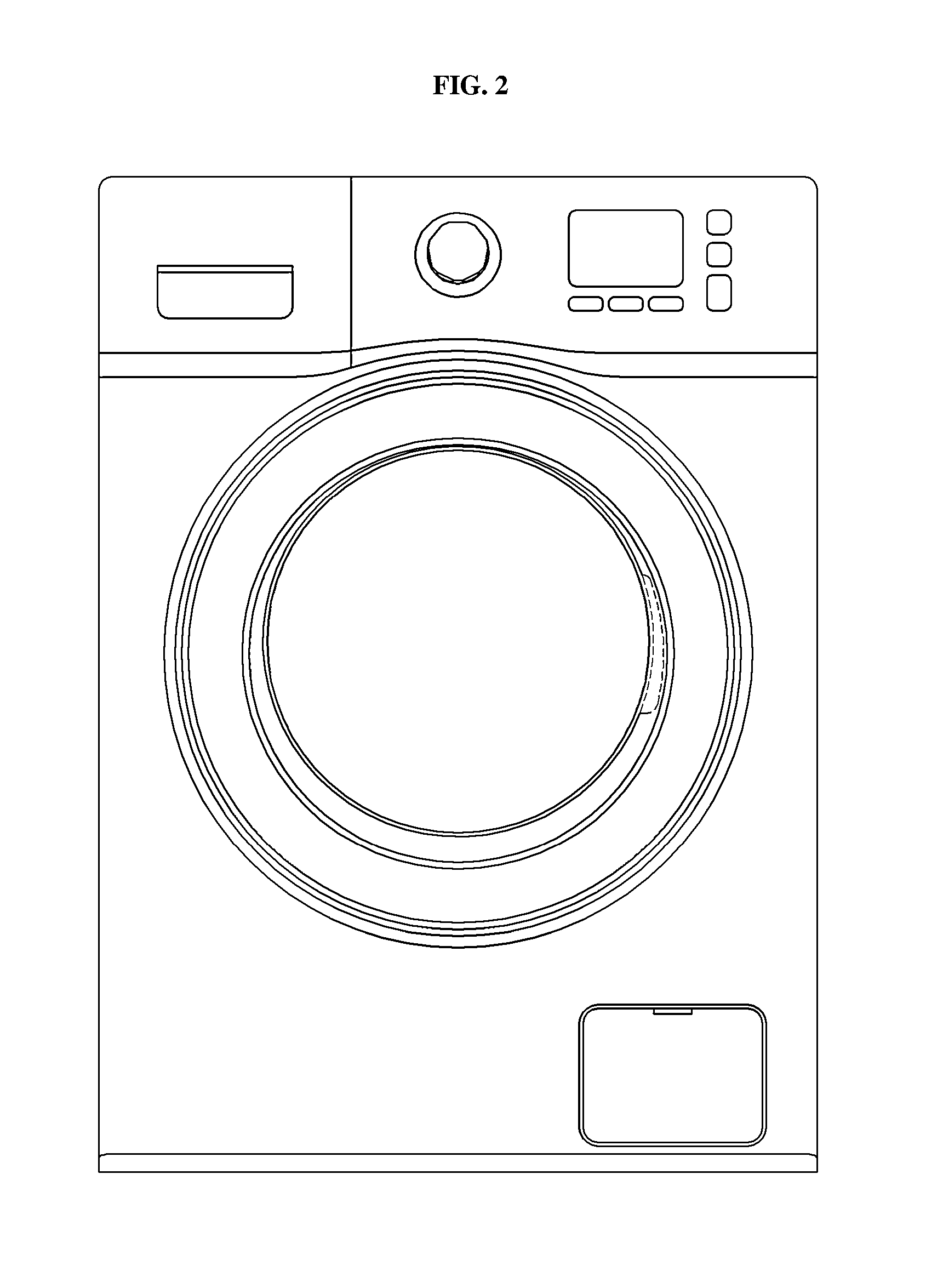 Washing Machine Simple Drawing