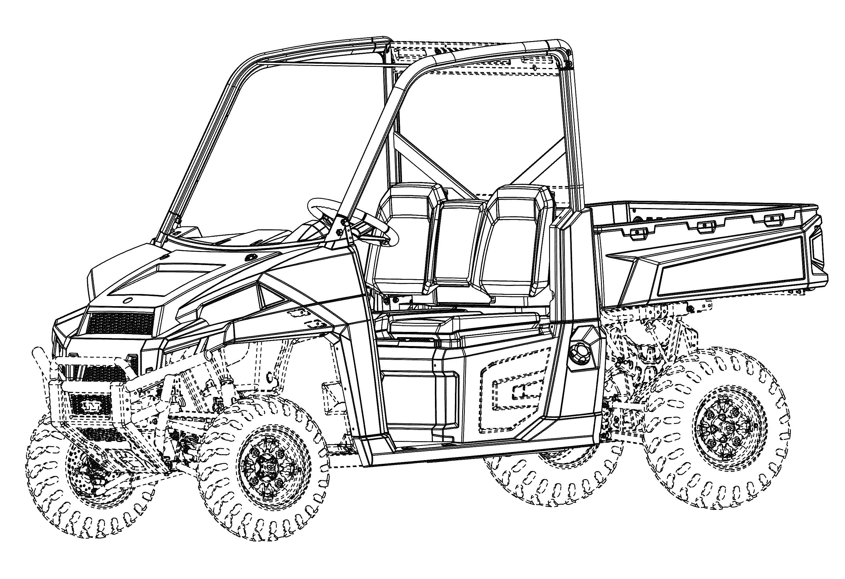 Polaris Rzr Coloring Pages Sketch Page Sketch Coloring Page