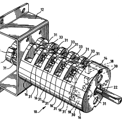 wrg 0626 bremas switch wiring diagram rotaryrotary cam switch wiring diagram circuit and schematics diagram [ 2640 x 2202 Pixel ]