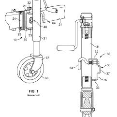 Electric Trailer Jack Wiring Diagram 2005 Dodge Dakota Front Suspension Patent Usre43535 Swivel Assembly Google Patents