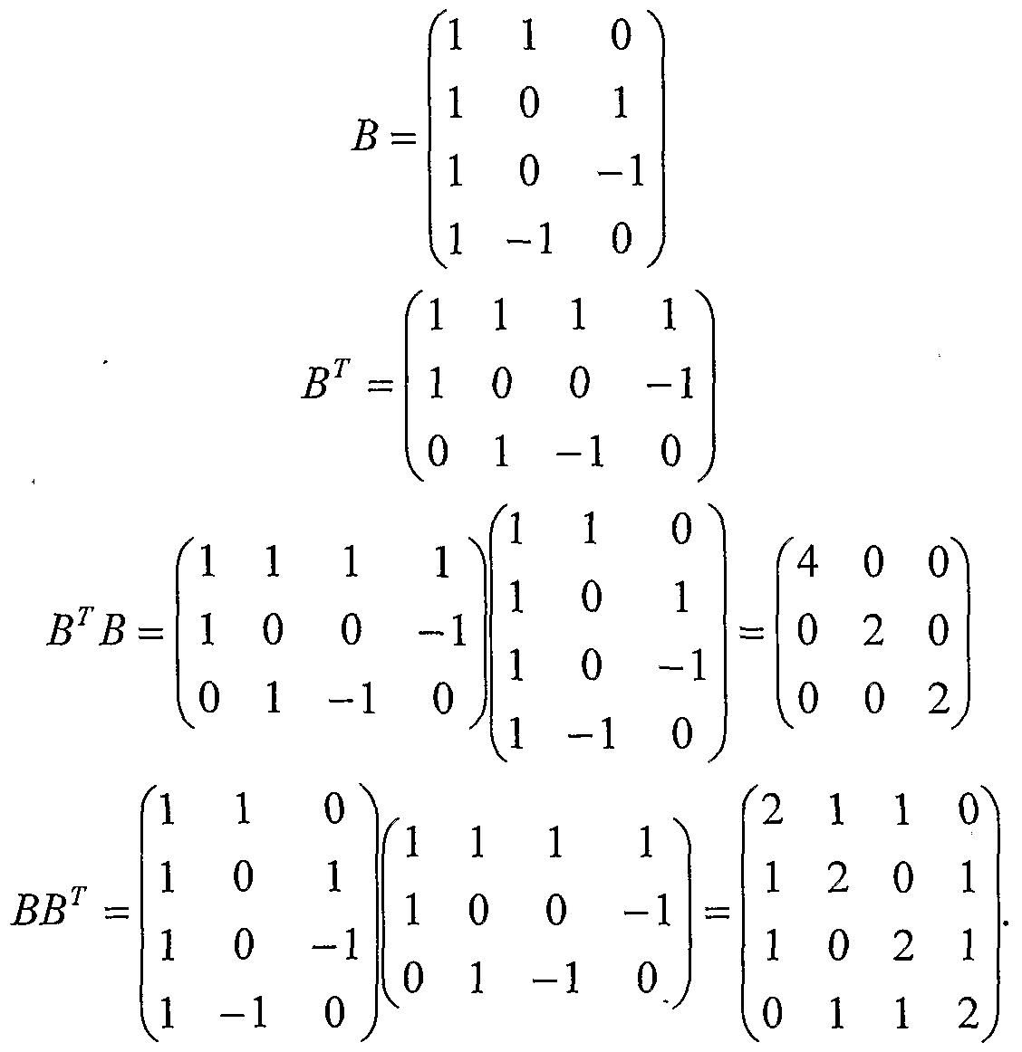 3x3 Eigenvector