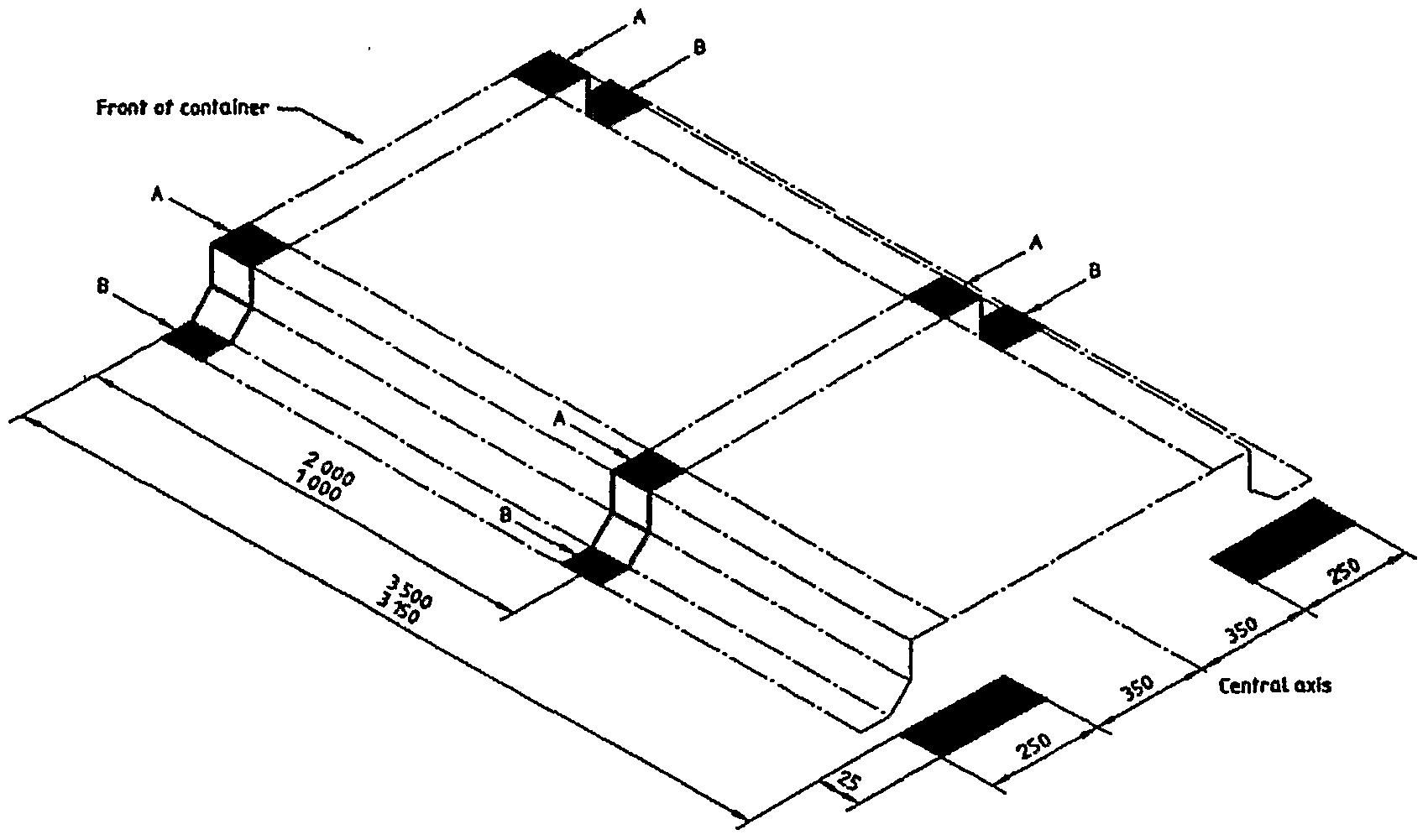 Intermodal Container Gooseneck Tunnel Dimensions