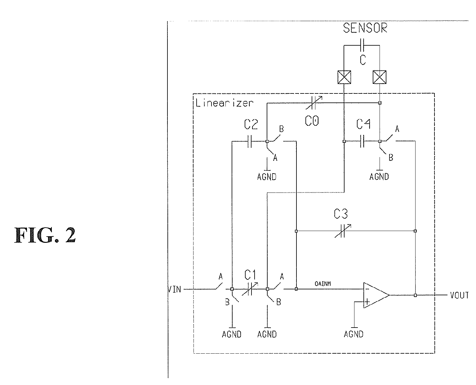 hight resolution of ep1722211a2 linearizer circuit for a capacitive pressure sensor circuit diagram of pressure transmitter basiccircuit circuit