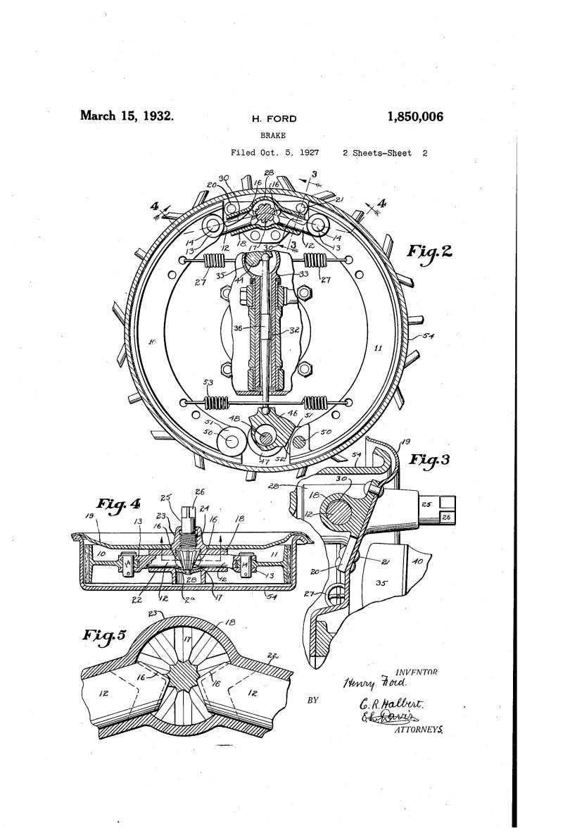 Henry Ford Random Patents #6