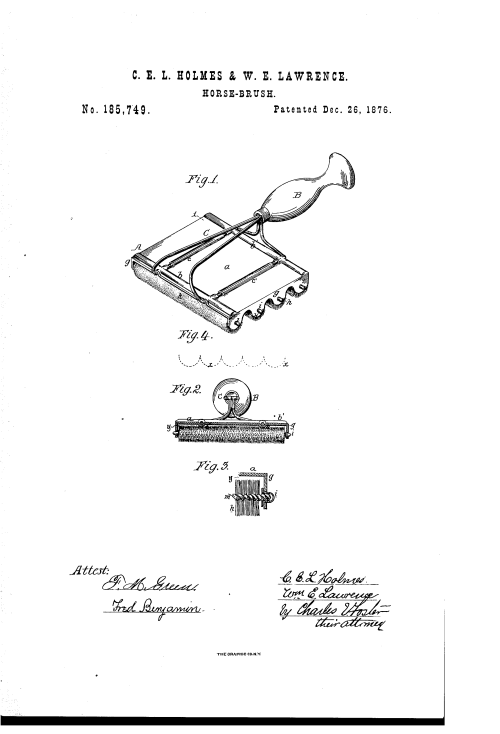 small resolution of patent us185749 improvement in horse brushes google patents horse body brush horse brushes diagram