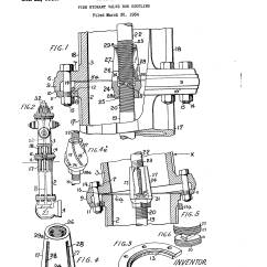 Basic Fire Hydrant Diagram Nest Wiring 2 Wire Patent Us2018455 Valve Rod Coupling