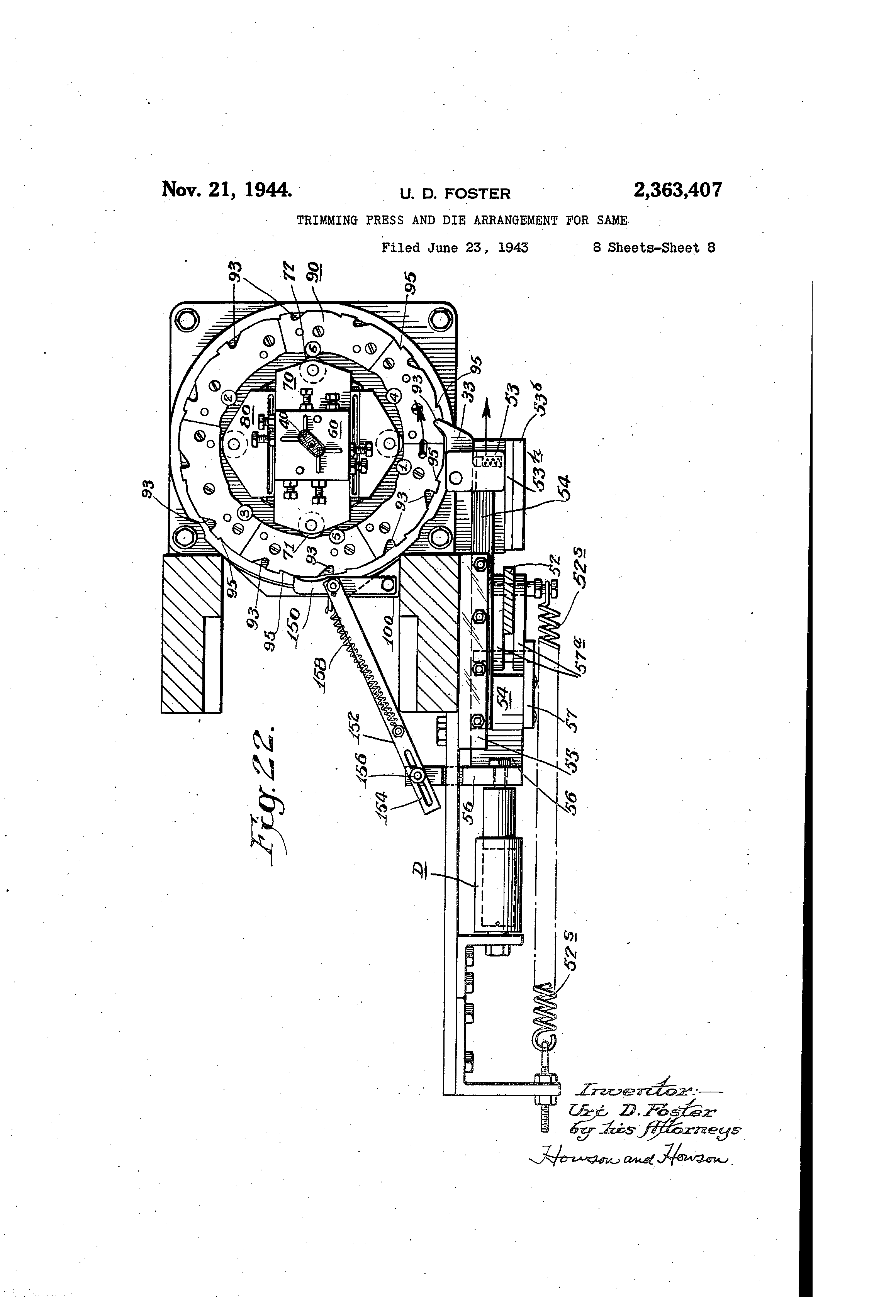 Frank Whittle Jet Engine Patent