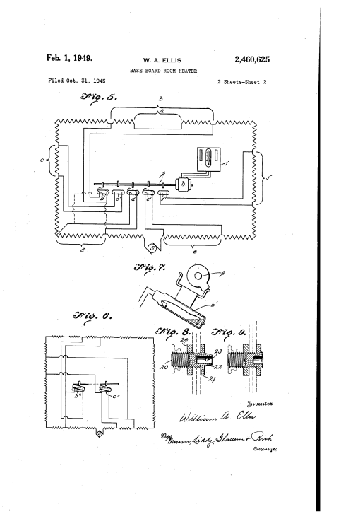 small resolution of baseboard room heater google patents on wiring 220 electric baseboard