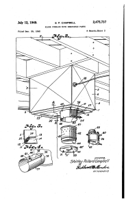 Patent US2475737 - Floor furnace with removable parts ...