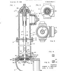 Basic Fire Hydrant Diagram Sony Cdx Gt320 Wiring Patent Us2576631 Valve Operator Google