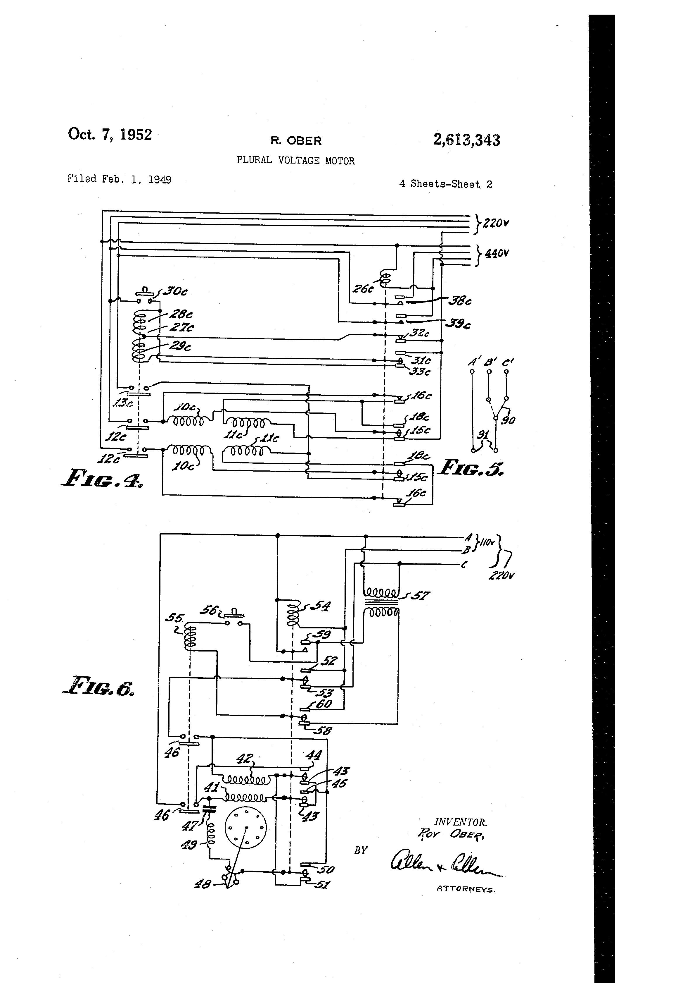 6 Lead Ac Motor Wiring Auto Electrical Diagram 12 Free Picture Delta