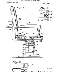 Electric Chair Was Invented By Chairs For Kids Rooms Patent Us2653648 Hydraulic Beauty