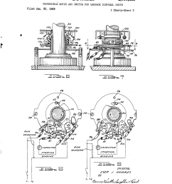 brevet us2701855 reversible motor and switch for garbage disposal units google brevets [ 2320 x 3408 Pixel ]
