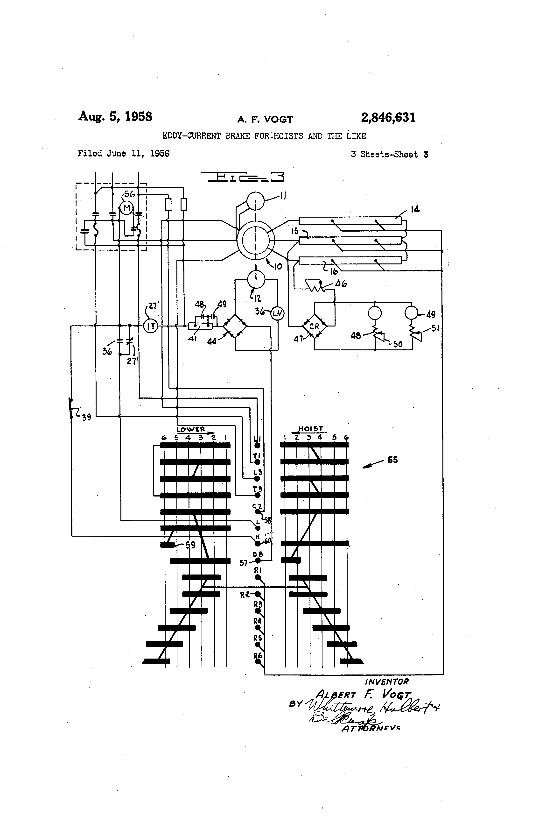 Electric Chain Hoist Control Diagram