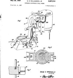 us2887910 0 patent us2887910 portable adjustable drill press google patents milwaukee electric drill milwaukee electric drill wiring diagram  [ 2320 x 3408 Pixel ]