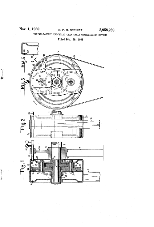 small resolution of brevet us2958239 variable speed epicyclic gear train transmission device google brevets