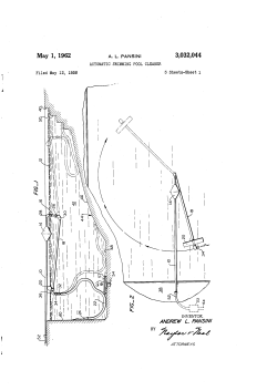automatic swimming pool cleaner patent