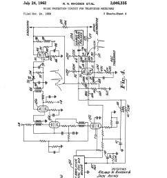 patent us3046335 noise protection circuit for television receivers figure fo2 2 amplifiermixer schematic diagram sheet 2 of 2 [ 2320 x 3408 Pixel ]