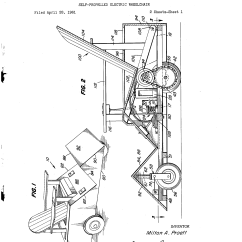 Electric Chair Was Invented By Swing Pier One Patent Us3057425 Self Propelled Wheelchair