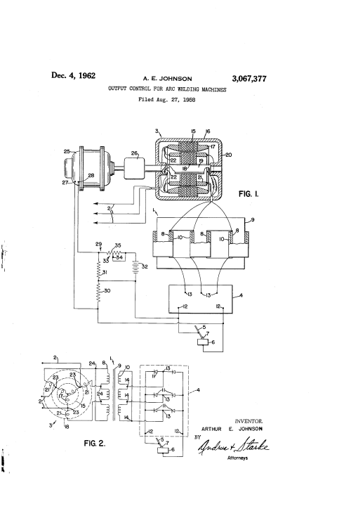 small resolution of patent us3067377 output control for arc welding machines google patents