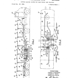 brevet us3319645 bottom loading system for tank trucks and tanker fire trucks tanker truck schematic [ 2320 x 3408 Pixel ]