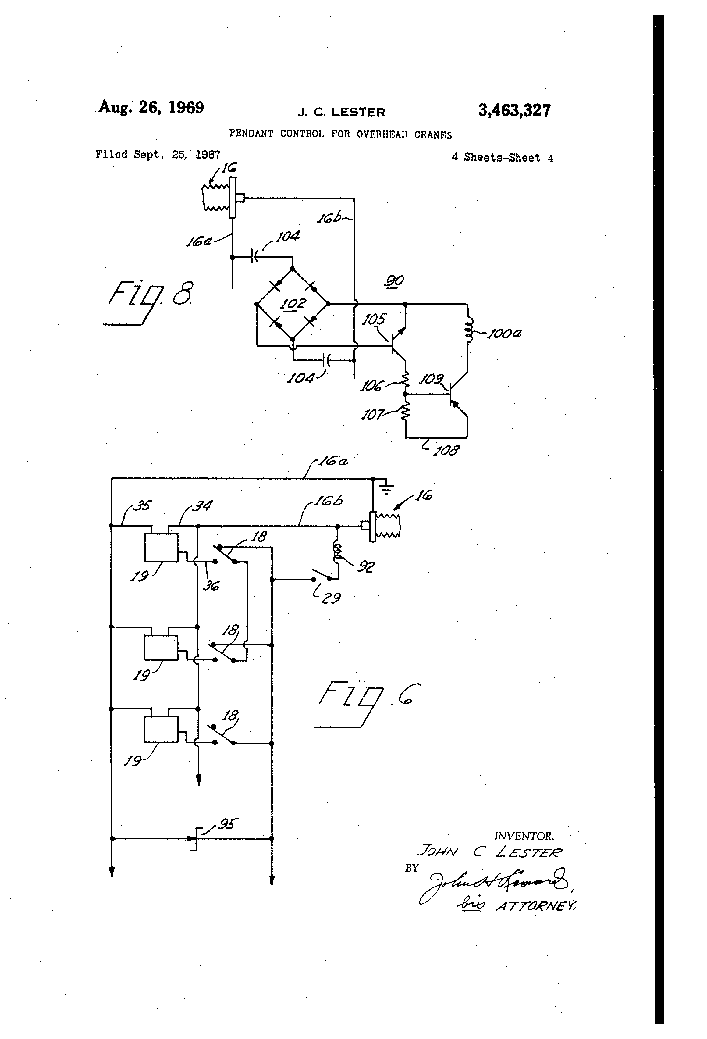 US3463327 3?resize\=665%2C977\&ssl\=1 chicago electric hoist wiring diagram chicago winch wiring pittsburgh electric hoist wiring diagram at edmiracle.co