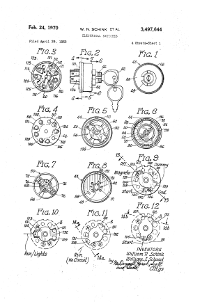 Patent US3497644  Electrical switches  Google Patents