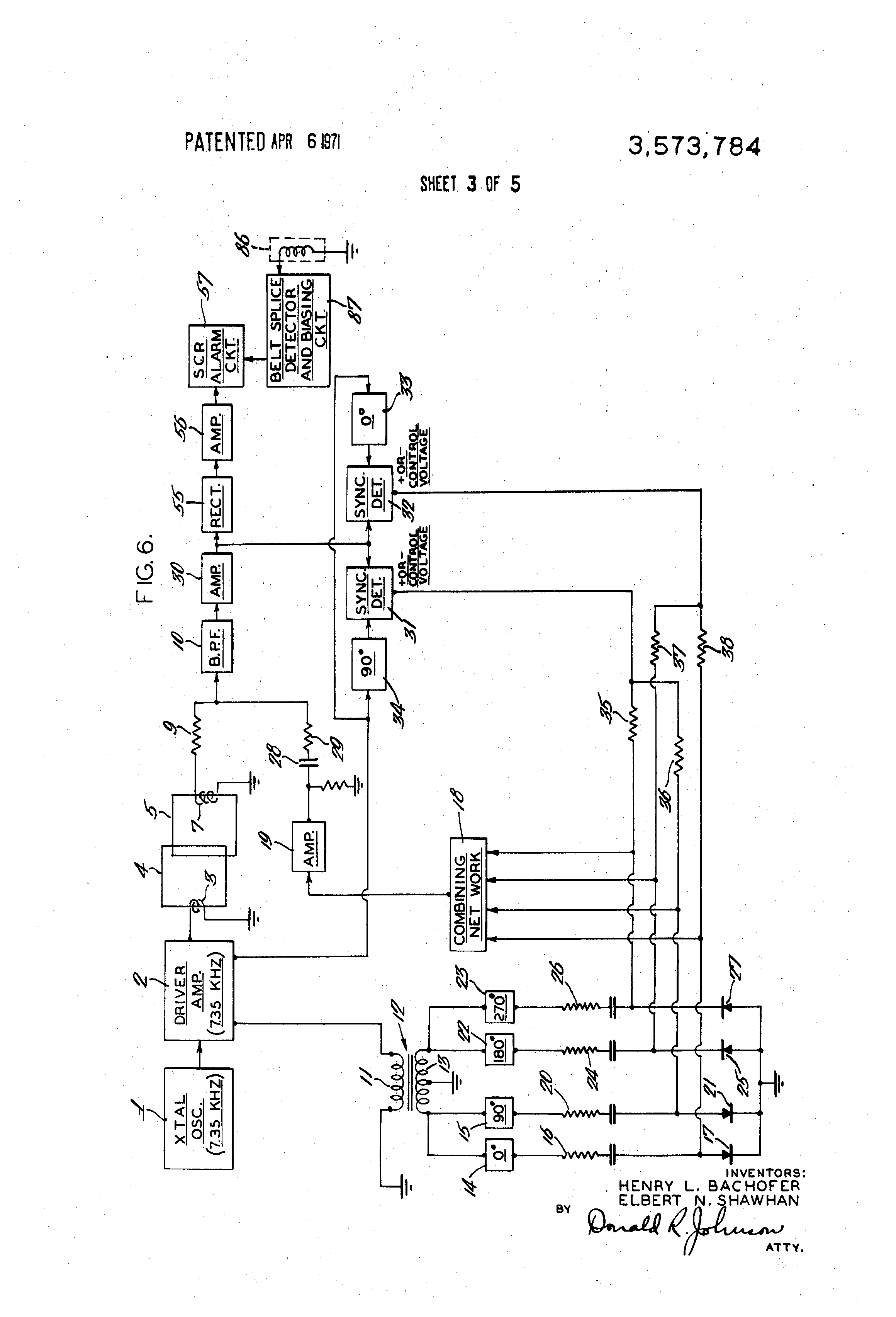 US3573784 3 wiring diagram altec ta6 wiring diagram library