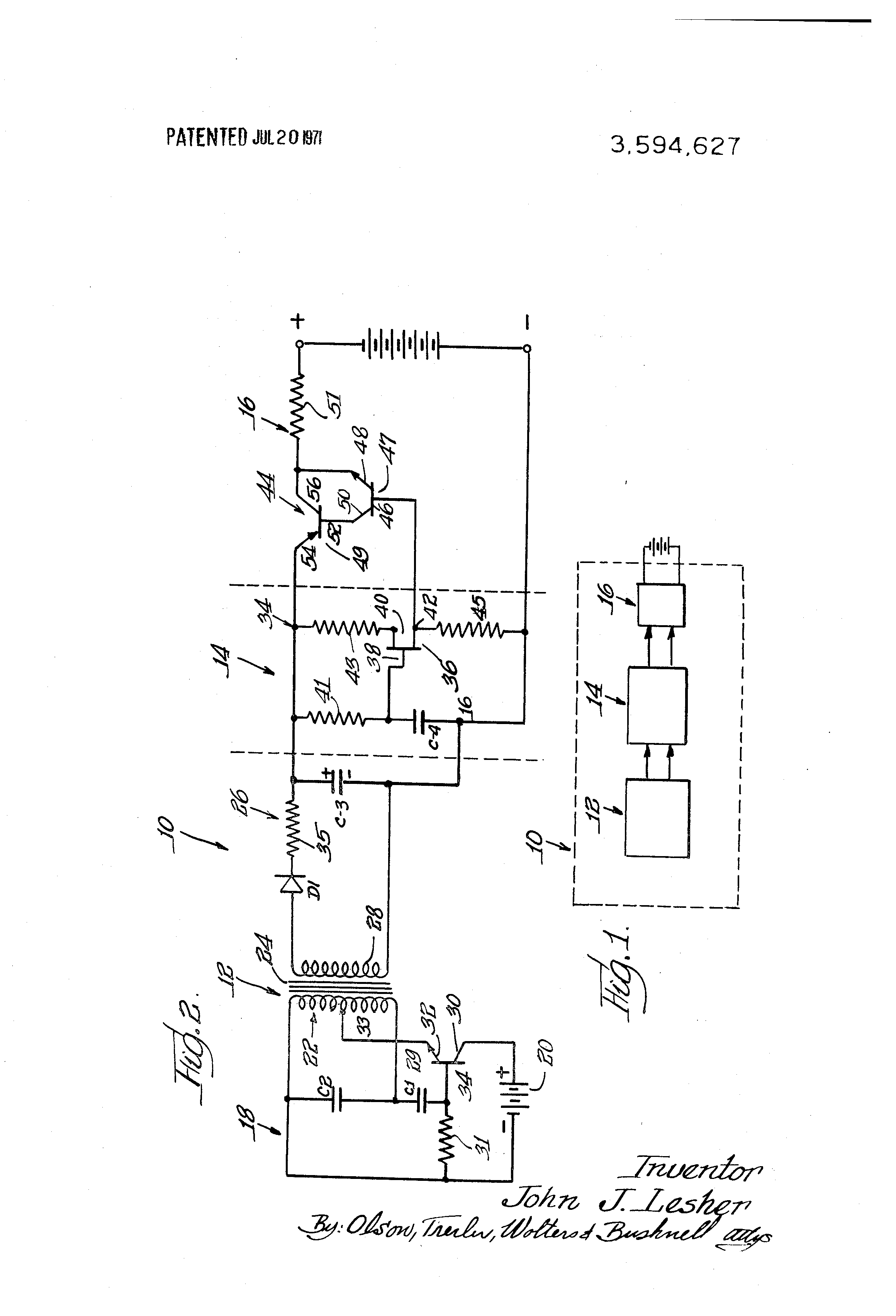 Capacitor Battery Charger Circuit
