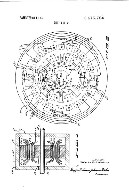 small resolution of  us3676764 1 patent us3676764 brushless alternating current generator leroy somer motor wiring diagram at cita