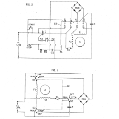 Single Phase Capacitor Start Run Motor Wiring Diagram 2 Venn Union Intersection Complement Patent Us3798523 Induction Brake