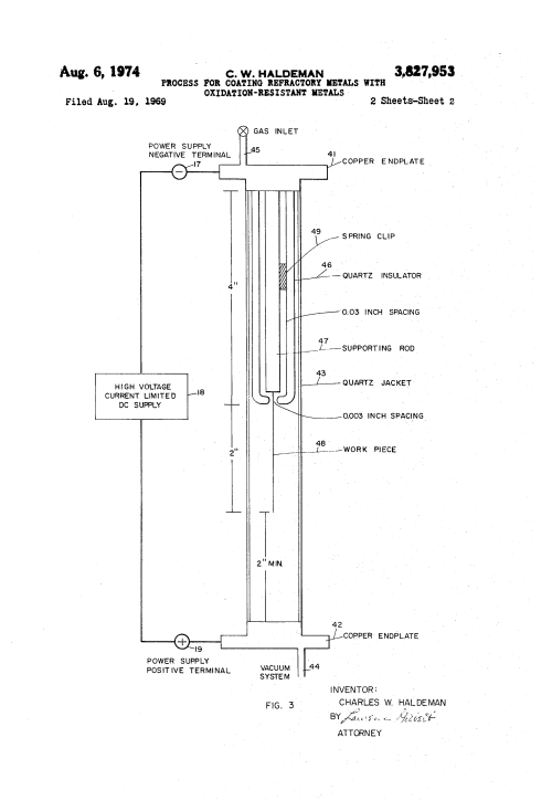 small resolution of brevet us3827953 process for coating refractory metals with oxidation resistant metals google brevets