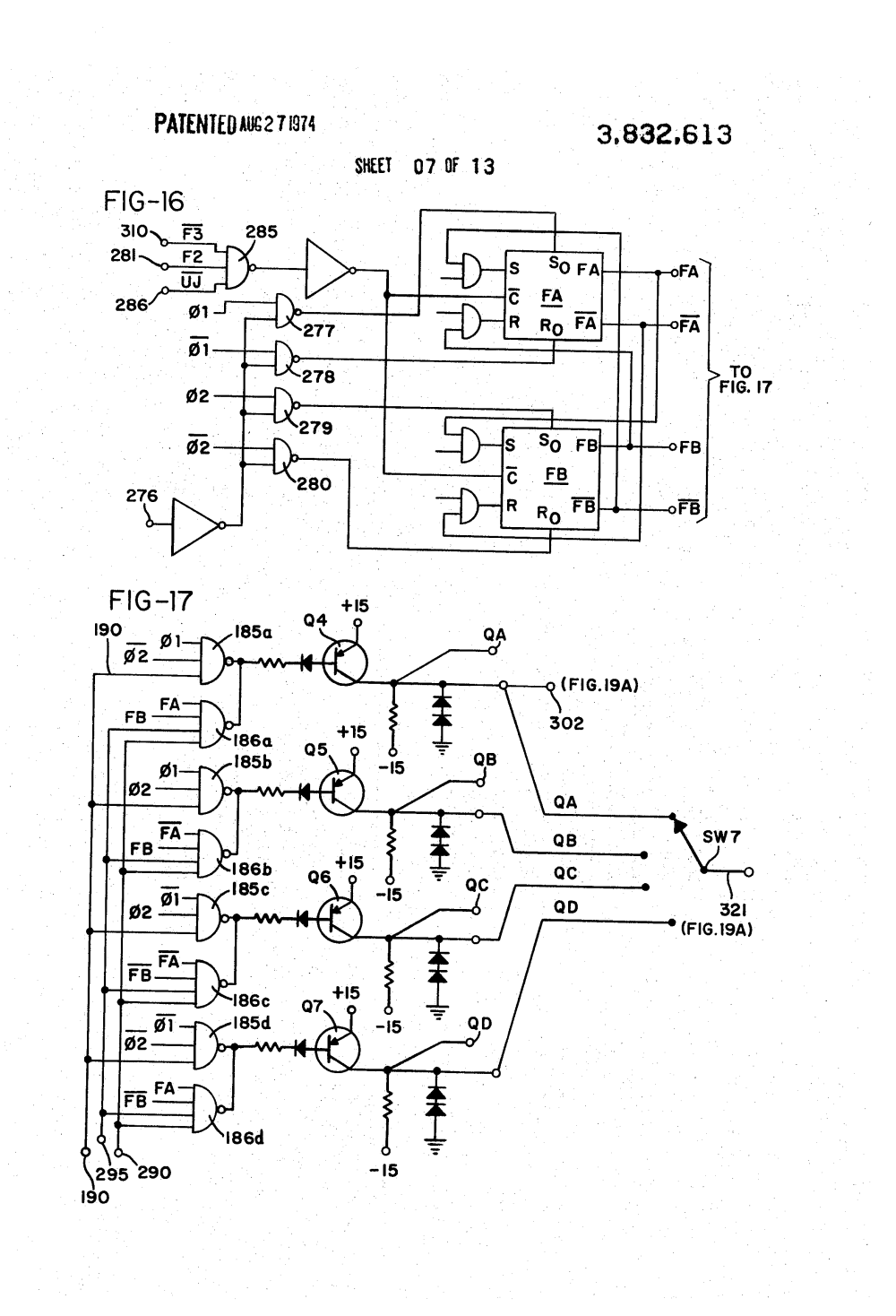 medium resolution of  us3832613 7 patent us3832613 sewing machine motor and control circuit singer sewing machine foot pedal wiring