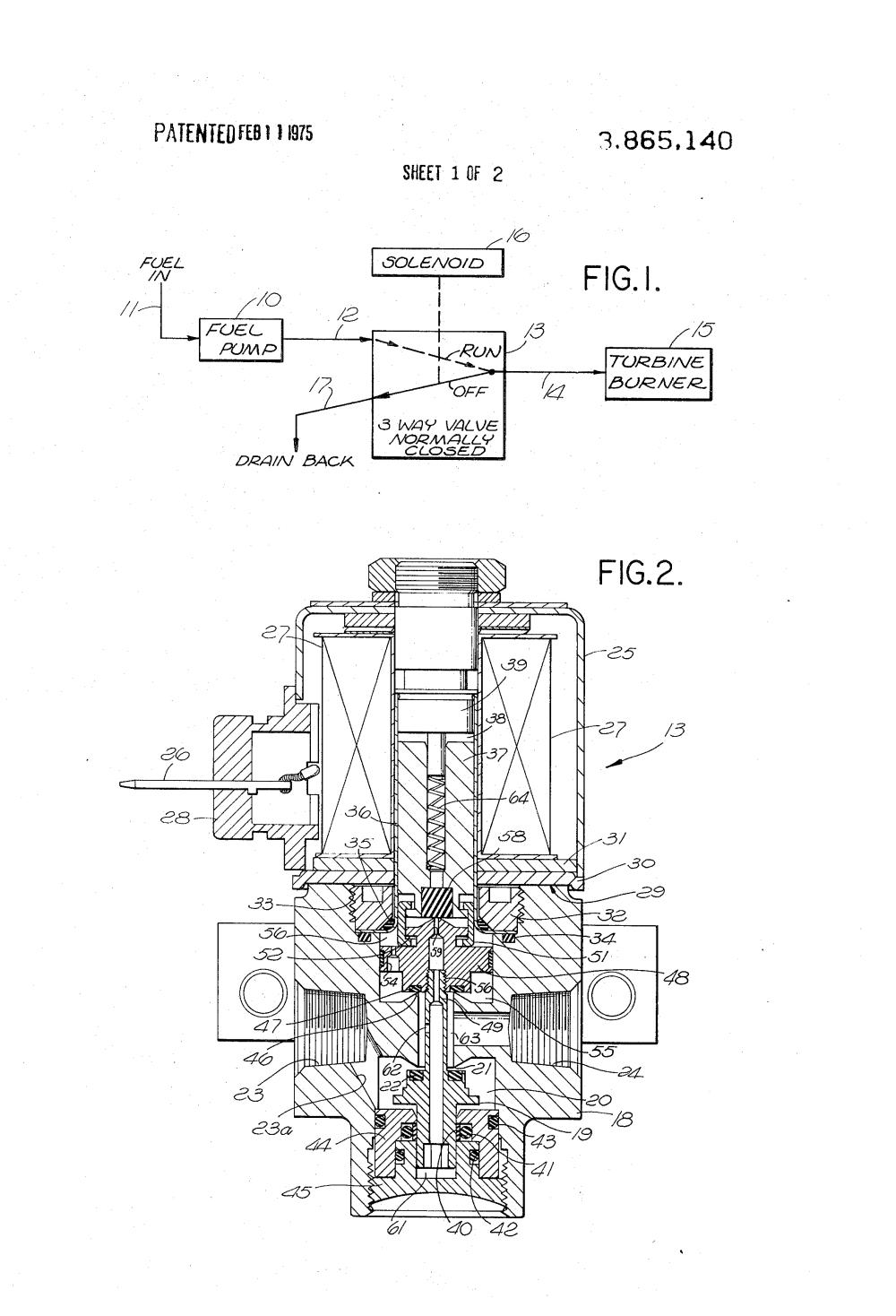 medium resolution of patent us3865140 solenoid operated three way fuel valve with pressure balancing google patents