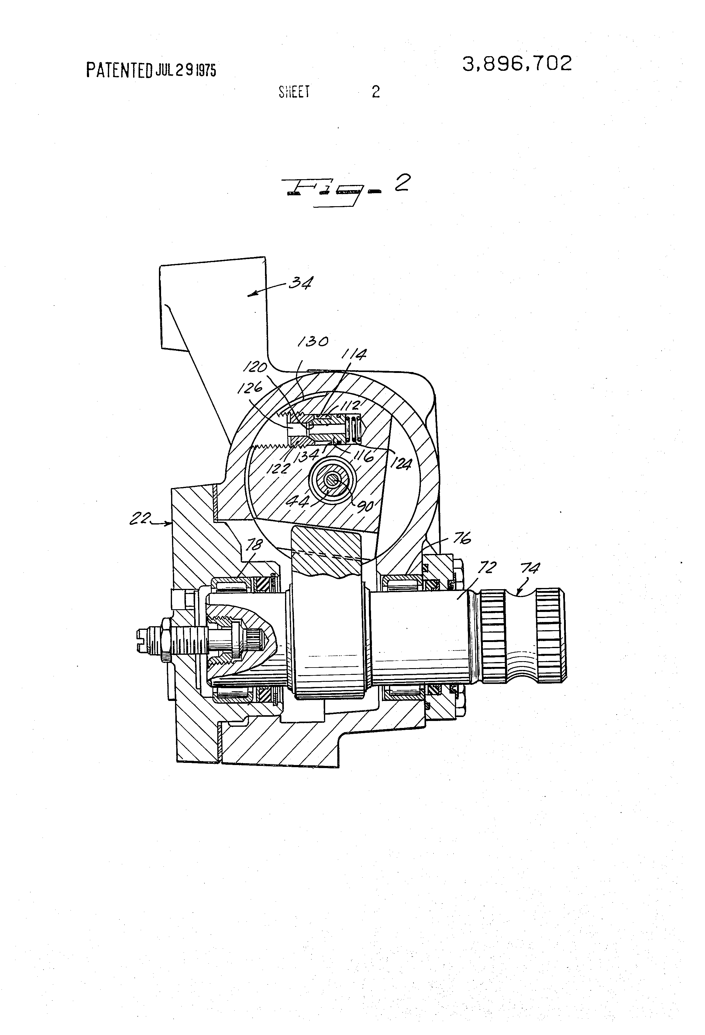 Pressure Relief Valve Exploded View
