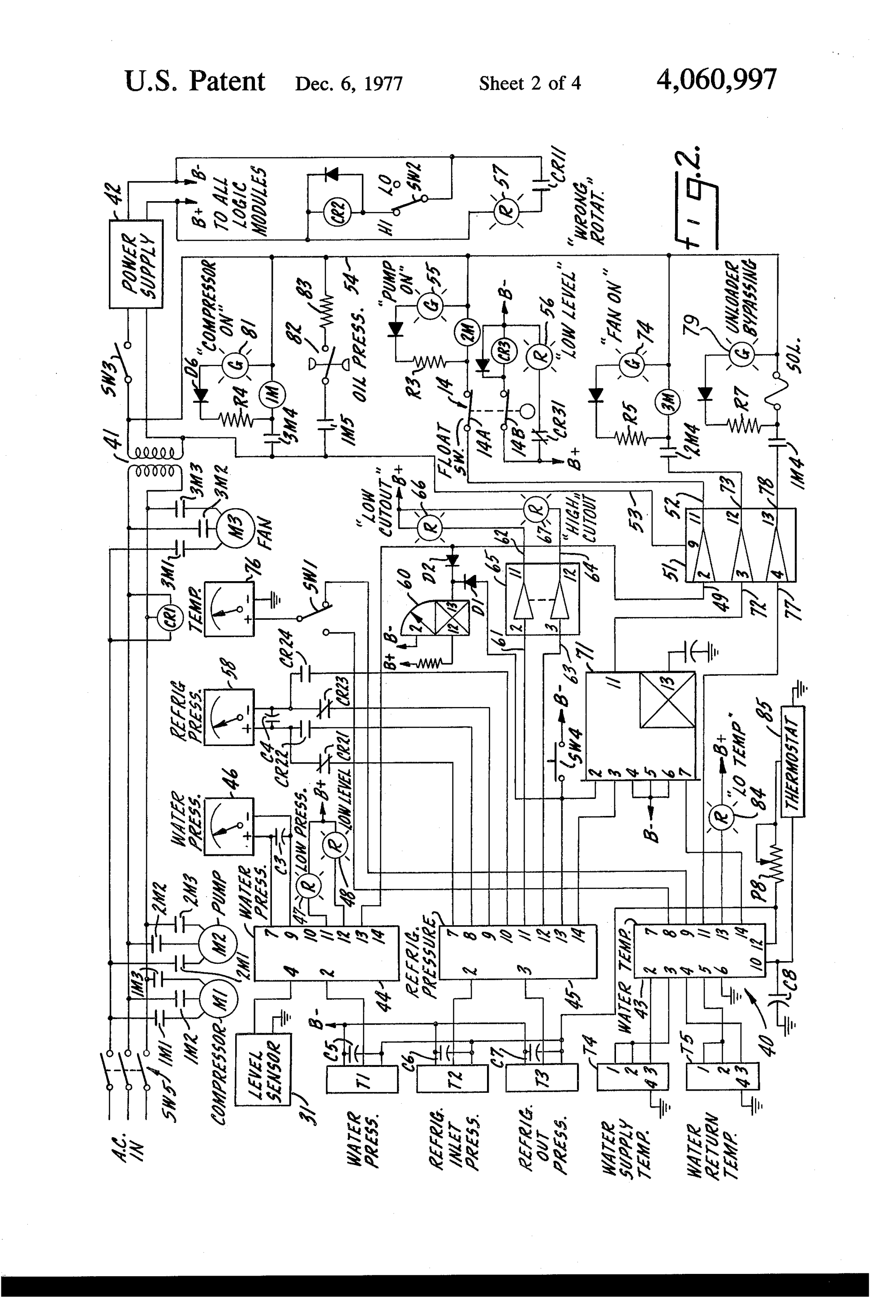 hight resolution of york chiller control diagram all about repair and wiring collections york chiller control diagram patent drawing