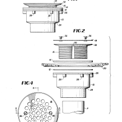 Toilet Flange Diagram Telemecanique Contactor Wiring Patent Us4146939 Drain Fitting For Pre Formed Or