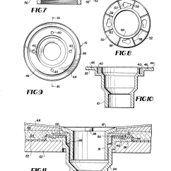 Shower Stall Diagram Class For College Management System Patent Us4146939 Drain Fitting Pre Formed Or