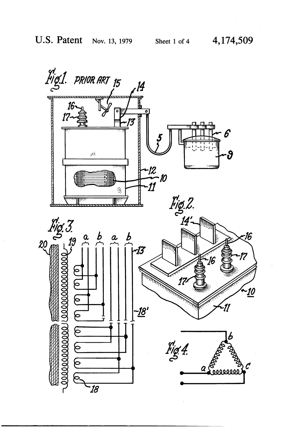 medium resolution of us4174509 1 patent us4174509 furnace transformer having a low voltage eim actuator wiring eim actuator wiring diagram