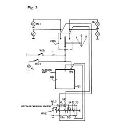 Electronic Flasher Unit Wiring Diagram 2001 Dodge Caravan Starter Patent Us4196415 Automotive Turn Signal