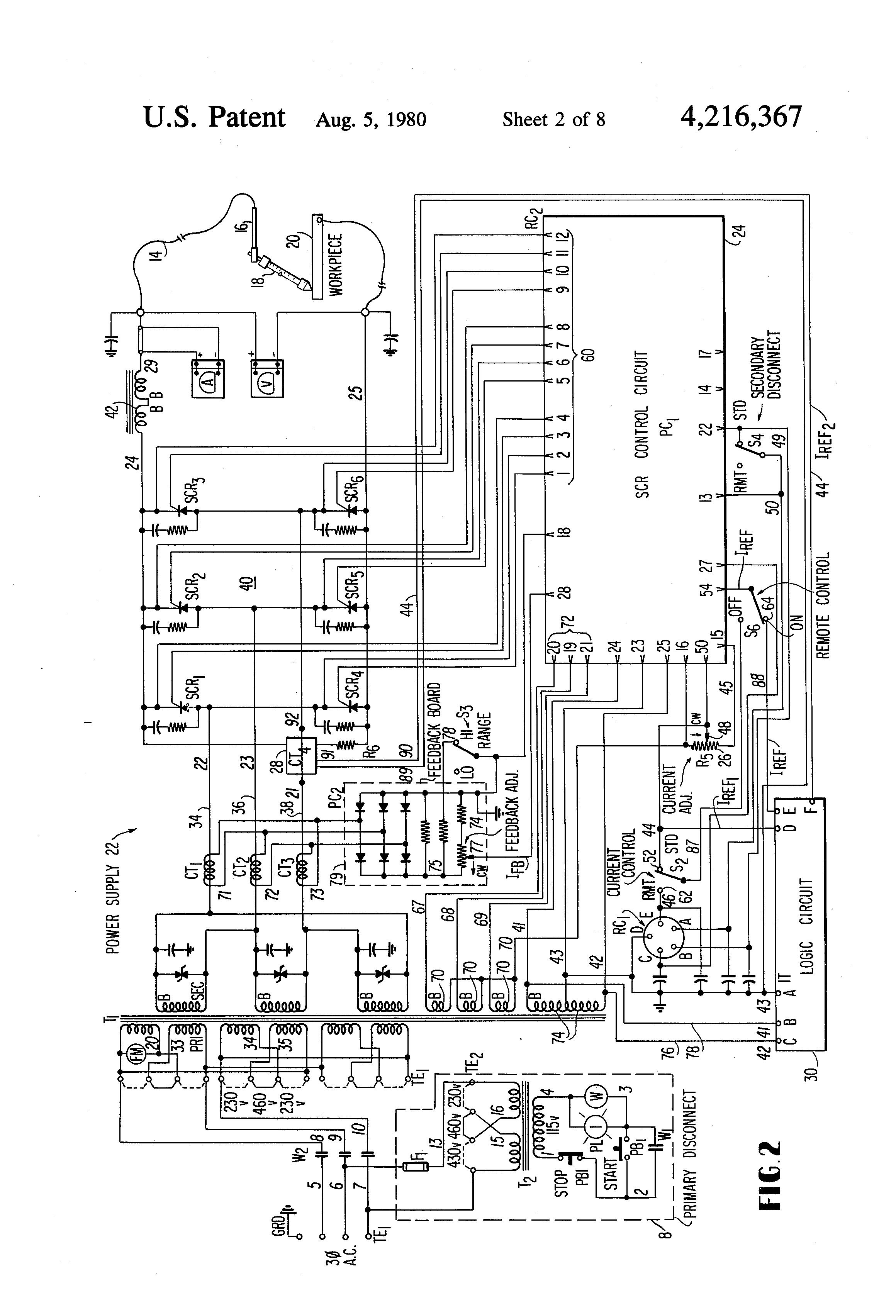 Welder Remote Rheostat Wiring Diagram TIG Welder Diagram