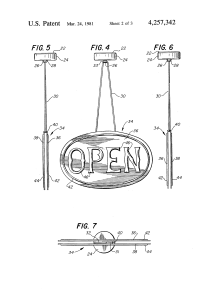 Patent US4257342 - Fireplace damper position indicator ...