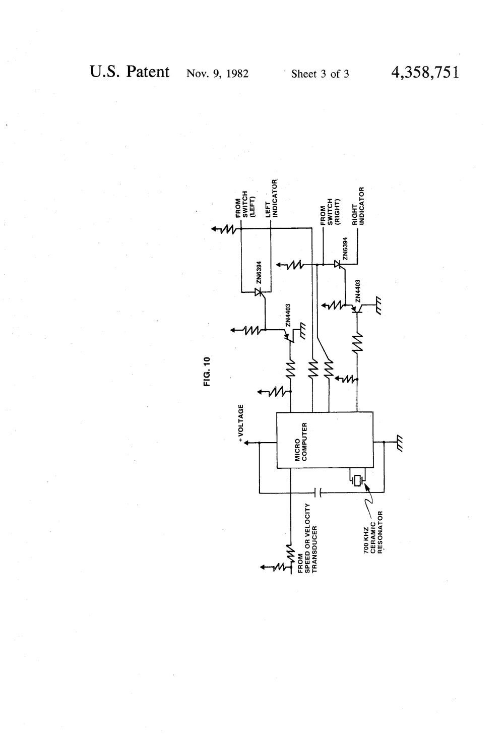 medium resolution of  us4358751 3 signal stat turn signal switch wiring diagram wirdig grote universal turn signal switch wiring