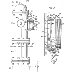 Basic Fire Hydrant Diagram Gy6 Stator Wiring Patent Us4402531 Nozzle Assembly Google