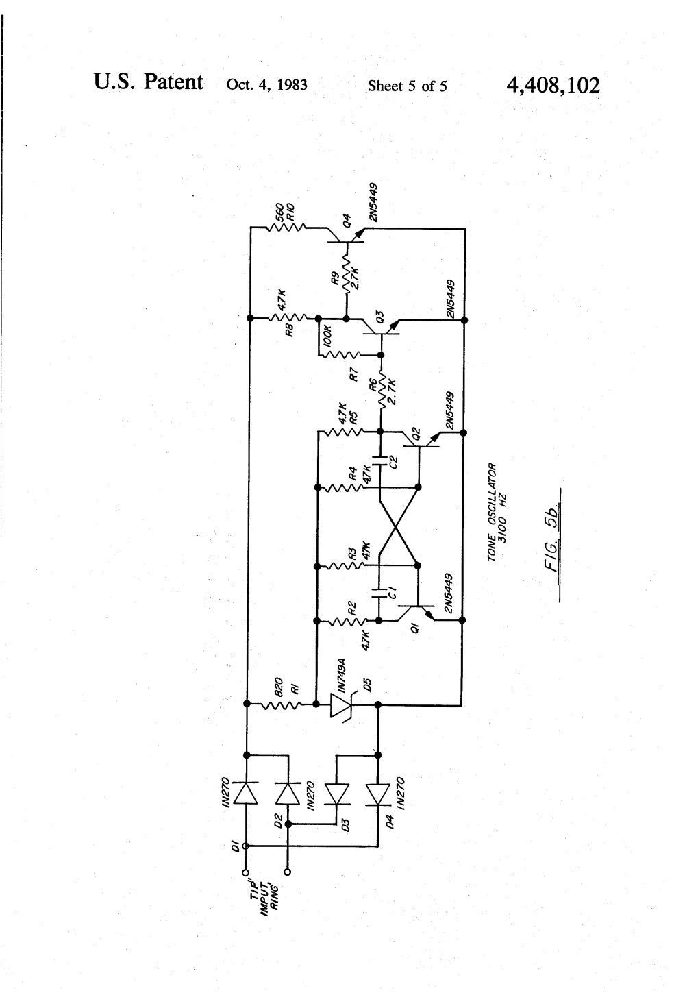 medium resolution of patent us4408102 two wire exchange telephone system google patents circuit diagram flip flop circuit diagram rotary dial phone wiring