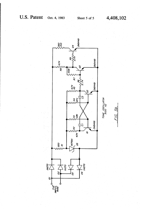 small resolution of patent us4408102 two wire exchange telephone system google patents circuit diagram flip flop circuit diagram rotary dial phone wiring