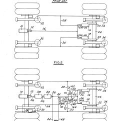 Trailer Air Bag Suspension Diagram Fujitsu Ten Car Audio Wiring Patent Us4558886 Fluid Circuit Means For Elevating The